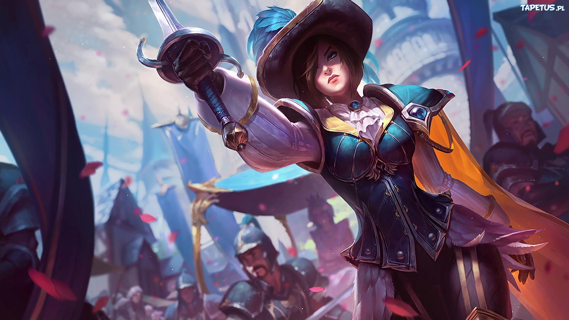 League of legends, Fiora
