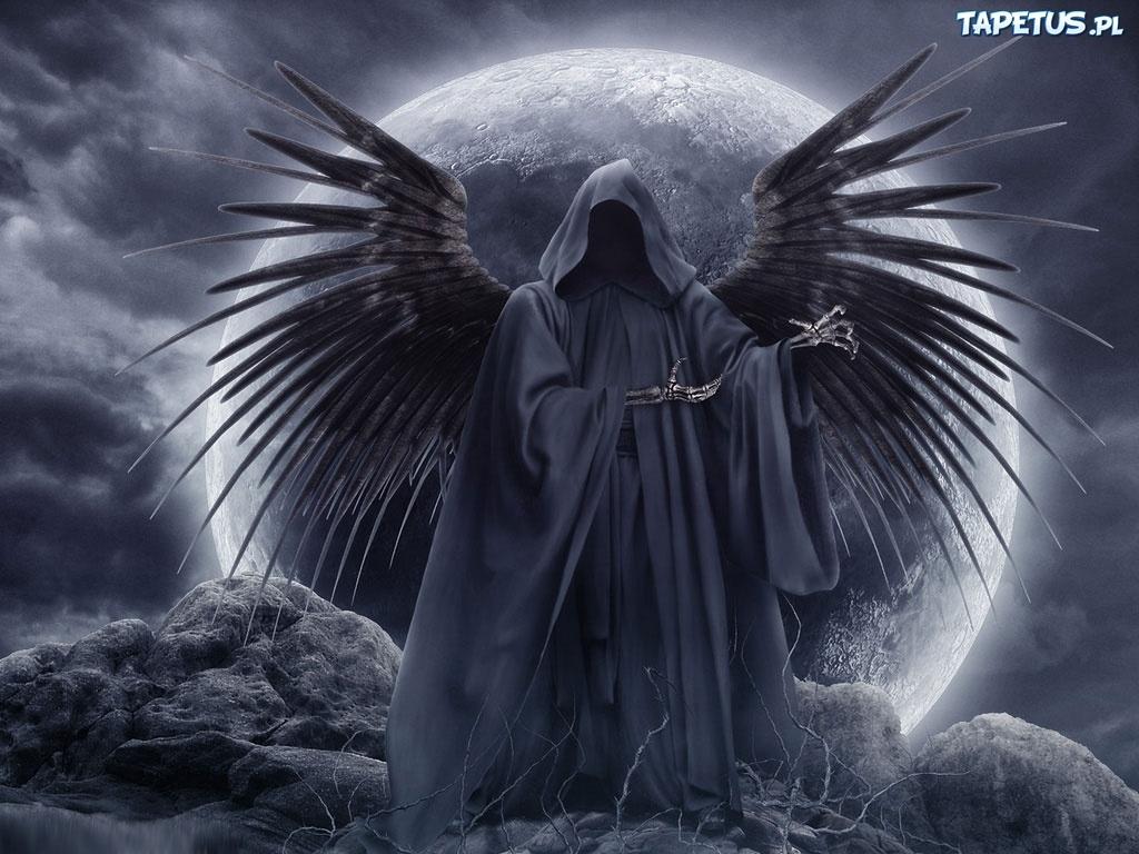 Anioł śmierci Księżyc